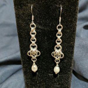 14519-12 Freshwater Pearl Earrings